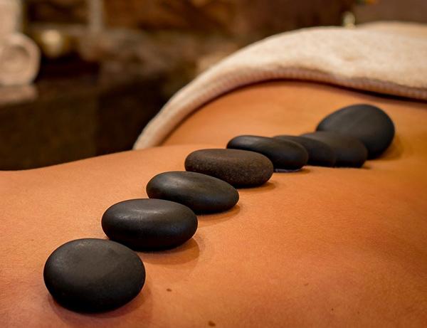 Aroma Stone Back Massage